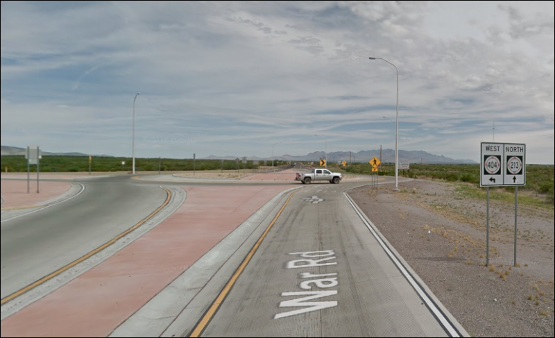 NM-213 Roundabout