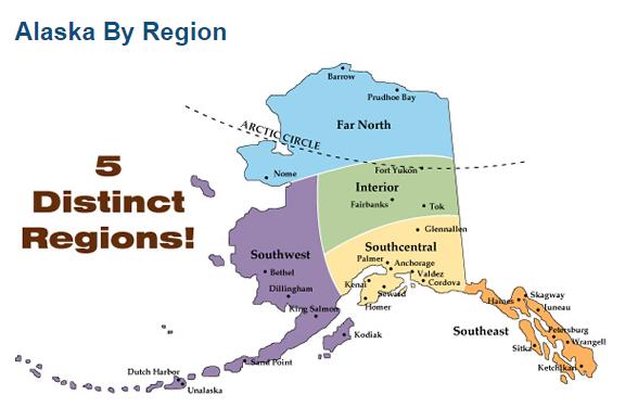 Alaska Map Regions2