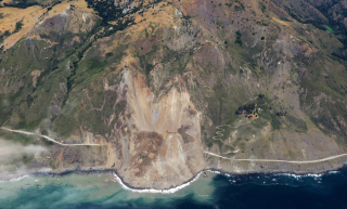 Hwy 1 Landslide 2017
