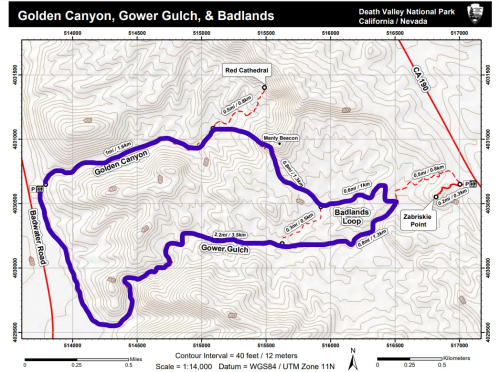 Gold Canyon Gower Gulch Badlands Loop Map_LI