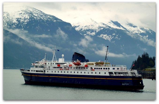 Malaspina Ferry Boat