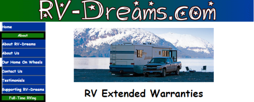 RV-Dreams Extended Warranties