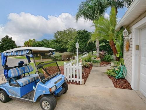 Golf cart  driveway  front walk
